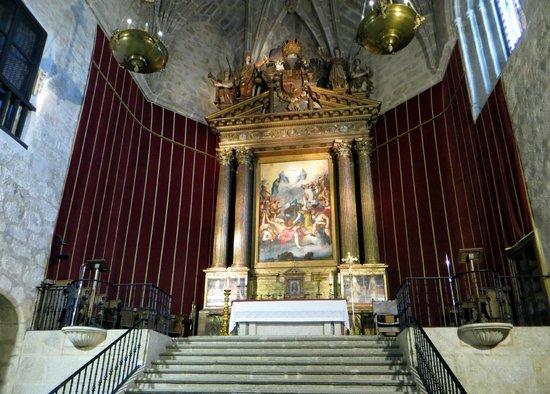 Monasterio de San Jerónimo de Yuste: Altar de la iglesia