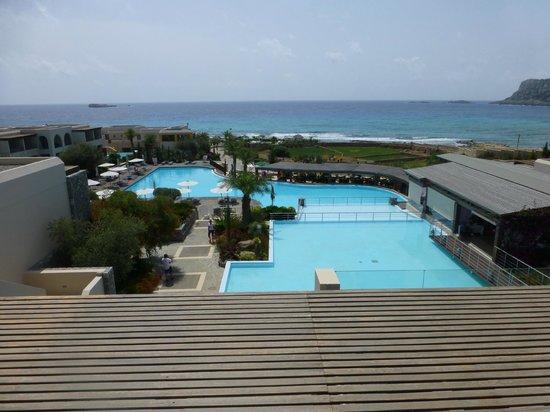AquaGrand Exclusive Deluxe Resort: View over pool area