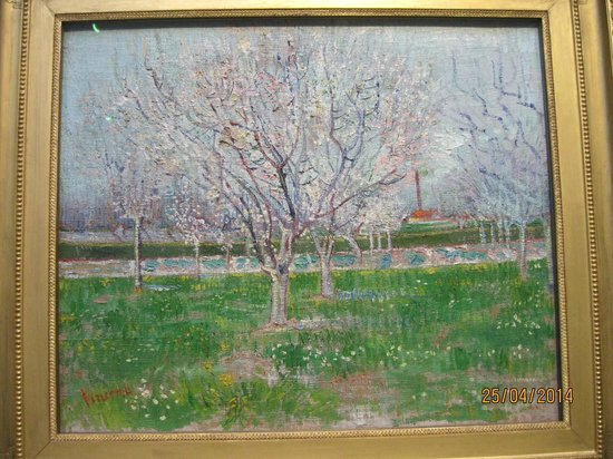 Scottish National Gallery: Van Gogh - Orchard in Blossom (Plum Trees) 1888
