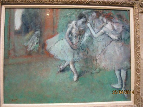 Scottish National Gallery: Degas - A Group of Dancer about 1898