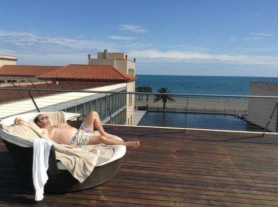 Le Meridien Ra Beach Hotel & Spa: Vue du SPA