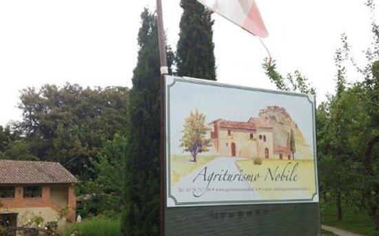 Agriturismo Nobile : entrance of