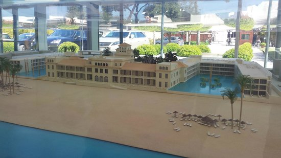 Le Meridien Ra Beach Hotel & Spa: Maquette