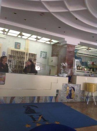Losanna Hotel: la reception