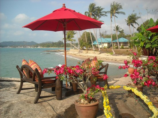 Rocky's Boutique Resort : The dining room