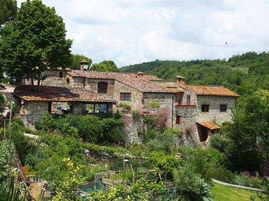 Poderi Val Verde : typisch toskanisch, ländlich, gemütlich