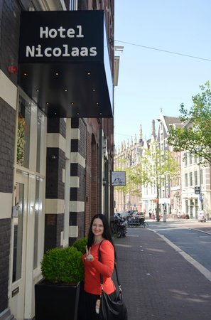 Hotel Sint Nicolaas: возле отеля