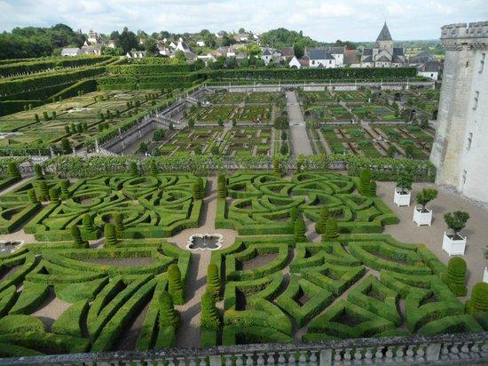 Château de Villandry : Symmetry - or is it?