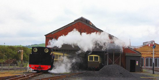 Vale of Rheidol Railway: Start of the journey!!!