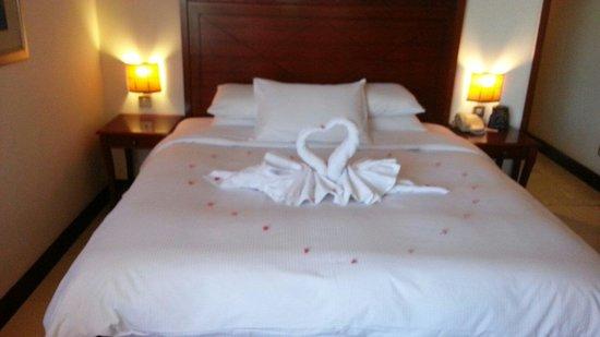 Hilton Fujairah Resort : Room decoration