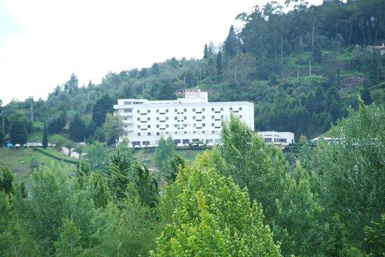 Hotel D. Luís: Vista a partir do parque Verde