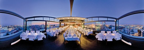 City Center Hotel: Restaurant / Terrace