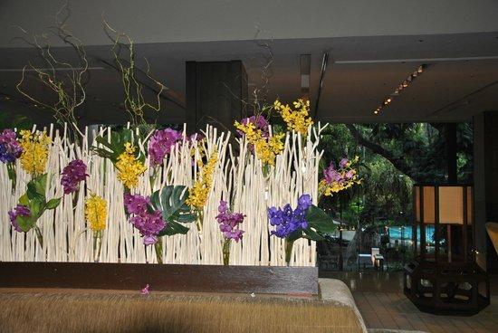 Swissotel Nai Lert Park: Des orchidées en guise de bienvenue