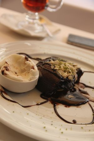 Fuego Restaurant : Chocolate volcano soufle