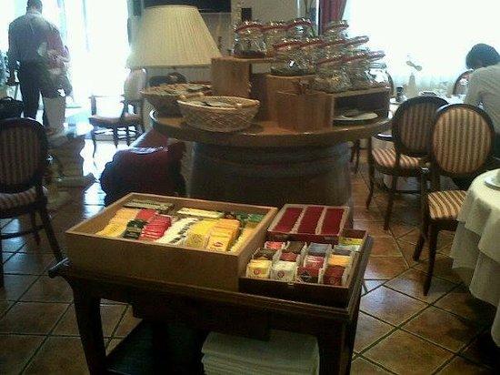 Hotel Grahor : Gran varieta' di tisane e te'