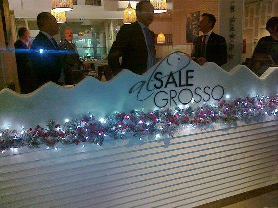 """Un'immagine del ristorante  """"Al Sale Grosso"""""""