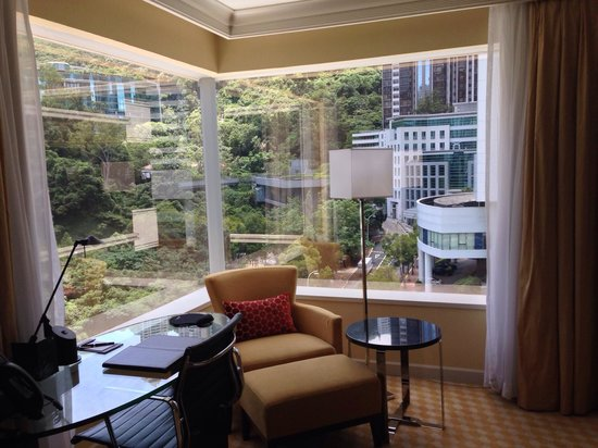 JW Marriott Hotel Hong Kong: Mountain view