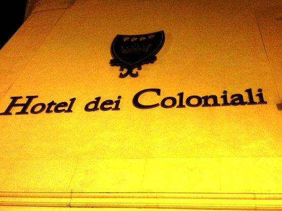 Hotel dei Coloniali: вход