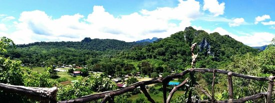 Magnificent view atop Ugong Rock