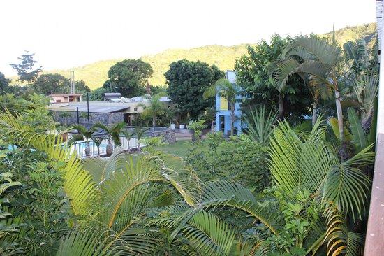 Dimitile Hotel: vue du balcon
