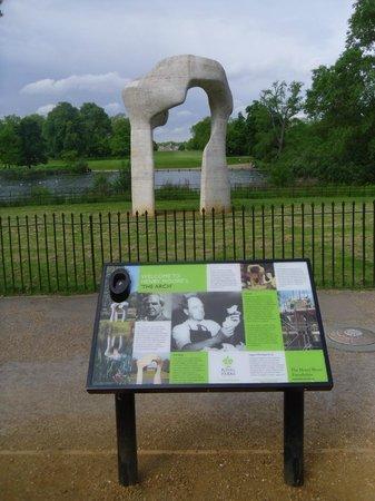 Hyde Park : Statue