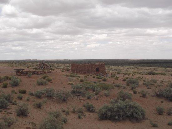 Homolovi Ruins State Park : La ruine principale.