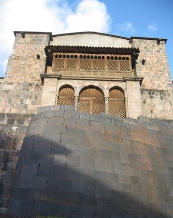 Convento de Santo Domingo: Santo Domingo Church on top of Qoricancha