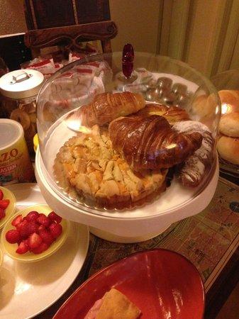 Bed & Breakfast Citta Giardino: Breakfast pastries