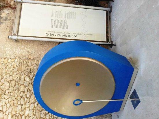 Museo Arkimedeion: Изобретение, передающее звук