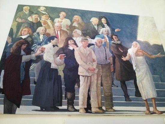 Museo Arkimedeion: Картина в фойе музея
