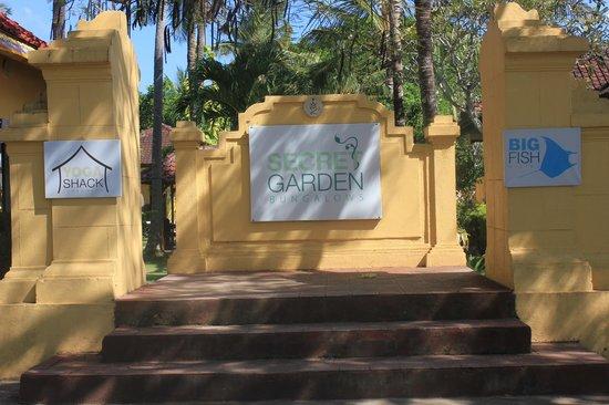 Secret Garden Bungalows: Eingang Secret Garden