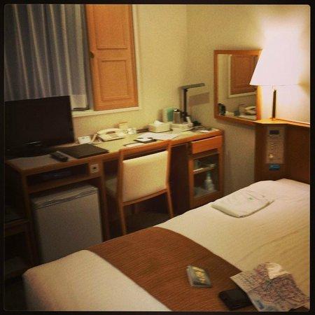 Nishitetsu Inn Shinjuku : Single Room