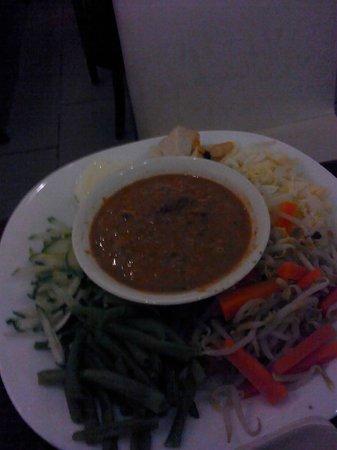 Arts Cafe Langkawi: gado gado