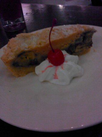 Arts Cafe Langkawi: banana crumble pie