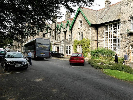 The Cumbria Grand: Front of hotel