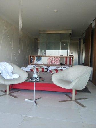 Parador de Cádiz: Habitacion desde la terraza