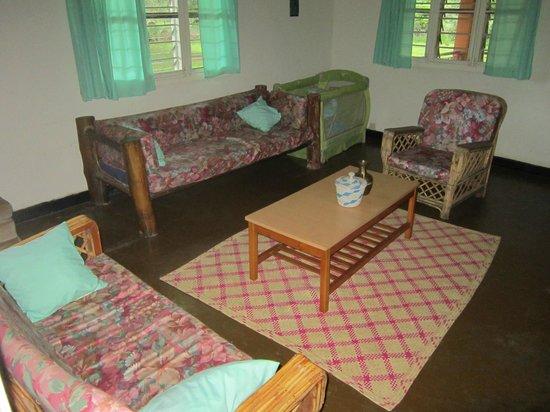 Ziwa Rhino and Wildlife Ranch: Lounge area