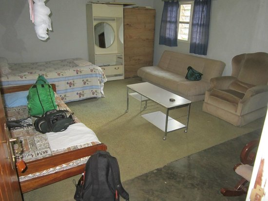 Ziwa Rhino and Wildlife Ranch: Ensuite bedroom