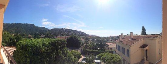 L'Orangeraie: Vue panoramique chambre vue sur mer