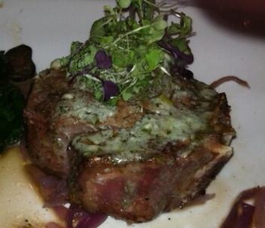 Morton's - The Steakhouse: bone in filet mignon