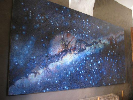 Convento de Santo Domingo: Milky Way painting