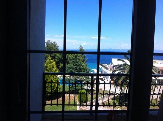 Alexander The Great Beach Hotel: Η θέα από το δωμάτιο