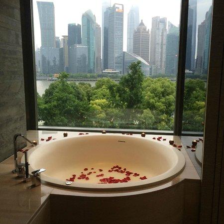 Banyan Tree Shanghai On The Bund: Ванная комната