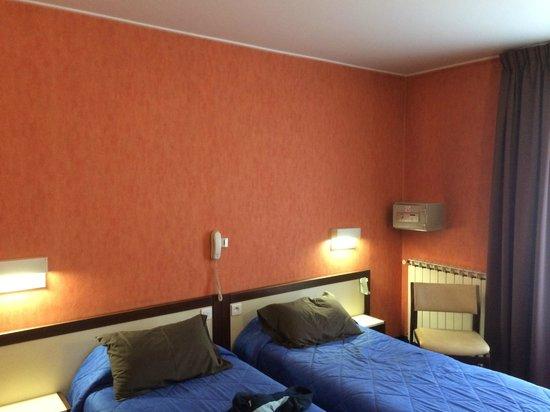 Hotel de Flore: tapisserie