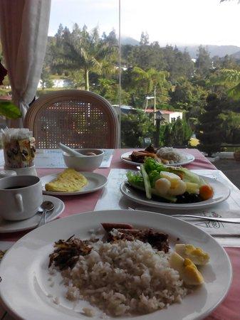 Casa dela Rosa Hotel : breakfast