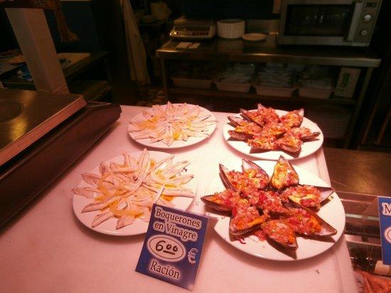 Mercado Victoria: frutti di mare ripieni