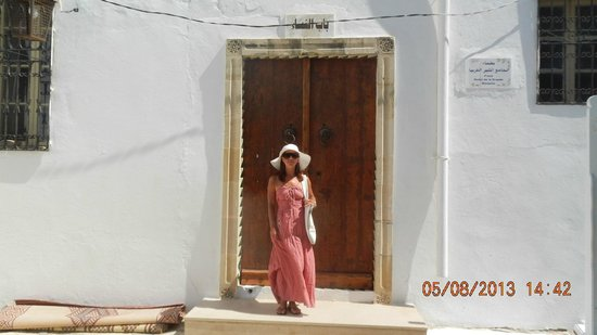Medina of Hammamet : Женский вход в мечеть