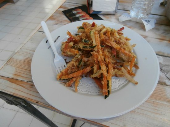 Mercado Victoria: tempura