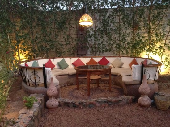 South North - Tea Garden & Culture Cafe: One of the cosy sofa corners