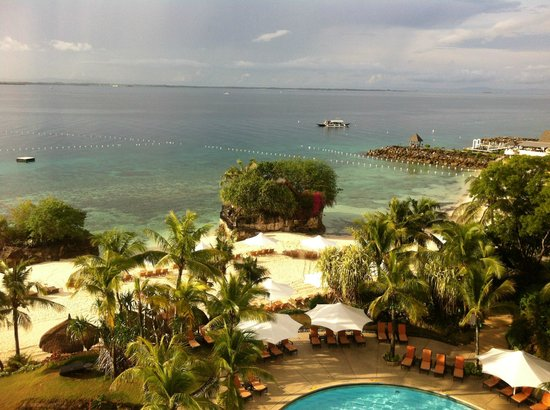 Shangri-La's Mactan Resort & Spa: seashore